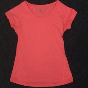 Zella shirt sleeve top